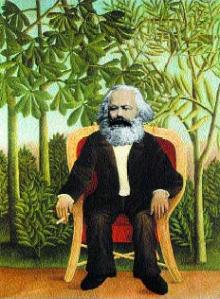 Karl Marx ✆ A.d.© Ñángara Marx